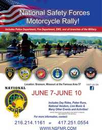 National Safety Forces Motorcycle Rally