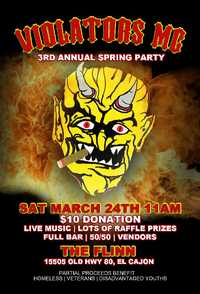 El Cajon Spring Party - 3rd Annual