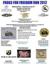 Navy Seal Frogs For Freedom Mid West Run
