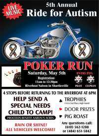 PA Ride For Autism - 5th Annual