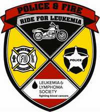 Police and Fire Ride For Leukemia