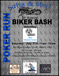Satin and Steel Rc Poker Run And Biker Bash