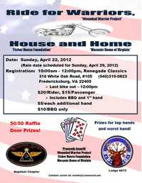 Ride For Warriors House And Home