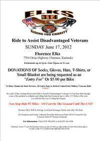 Ride To Assist Disadvantaged Veterans