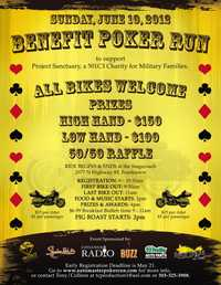 Poker Run To Benefit Project Sanctuary