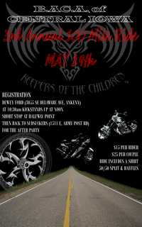 Bikers Against Child Abuse100 Mile Ride - 3rd Annual