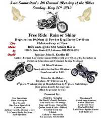 Bike Blessing and Ride - 4th Annual