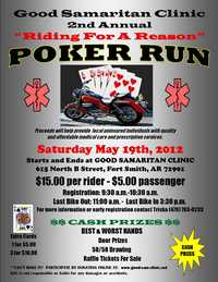 Riding For A Reason Poker Run - 2nd Annual