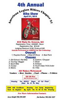 KS American Legion Riders Bike Show - 4th Annual