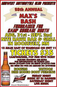 Maxs Bike Bash - 28th Annual