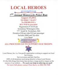 Local Heroes Poker Run - 7th Annual