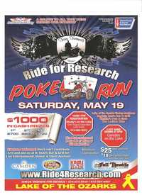 Ride For Research Poker Run