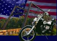 Old Iron Bridge Motorcycle Show