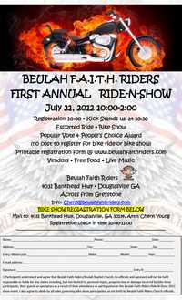 Beulah Faith Riders Ride N Show
