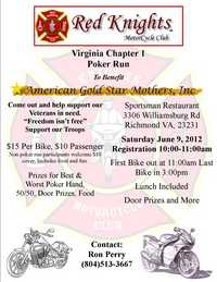 VA Red Knights Poker Run