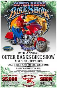 Outer Banks Bike Show - 12th Annual