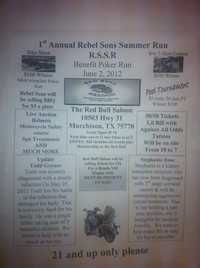 Rebel Sons Summer Run