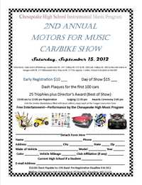 Motors For Music Car and Bike Show - 2nd Annual