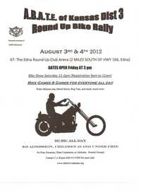 Abate Of Kansas Round Up Bike Rally