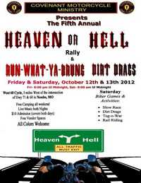 Heaven Or Hell Run What You Brung Dirt Drags