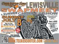 Lewisville Motorcycle Swap Meet And Summer Chopper Show