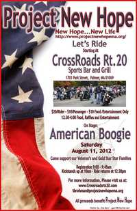Motorcycle Run Benefiting Project New Hope