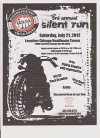 Bikers Against Child Abuse Mn Silent Run - 3rd Annual