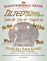 ABATE Meet and Greet During Tilted Kilts Bike Night