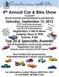 Wood Hudson Car And Bike Show - 4th Annual