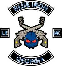 Blue Iron Ride For Courage