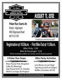 Carter Kettner Memorial Bike Run - 4th Annual