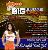 Hooters Big Bike Sundays