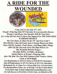 Ride For The Wounded