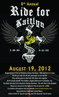 Ride For Kaitlyn - 8th Annual