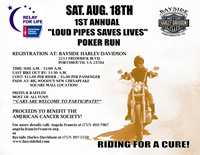 Loud Pipes Save Lives Poker Run