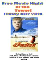 Bayside Harley Davidson Tower Free Movie Night Jul