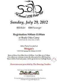 SOB Poker Run - 9th Annual