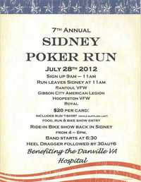 Sindey Poker Run - 7th Annual