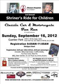 Shriners Ride For Children