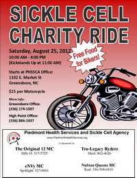 Sickle Cell Charity Ride - 4th Annual