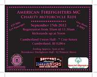 American Firefighters Mc Charity Ride