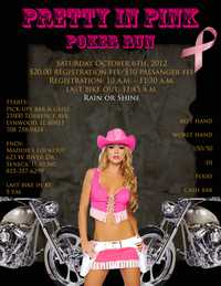 Pretty In Pink Poker Run