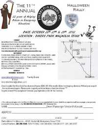 Bikers For Bikers Halloween Rally - 11th Annual