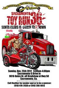 Mmas Sacramento Toy Run - 36th Annual