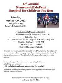 Nemours Dupont Hospital For Children Toy Run - 2nd Annual