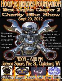 Hogs And Heroed Foundation Bike Show