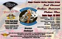 Hog Indian Summer Poker Run