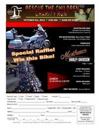 Rescue The Children Charity Poker Run