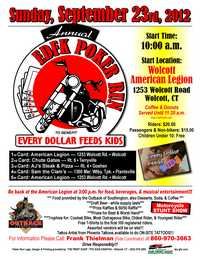 Every Dollar Feeds Kids Poker Run