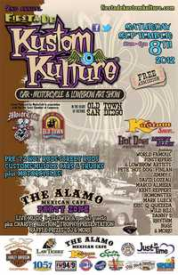 Fiesta De Kustom Kulture Car Bike And Low Brow Art Show - 2d Annual